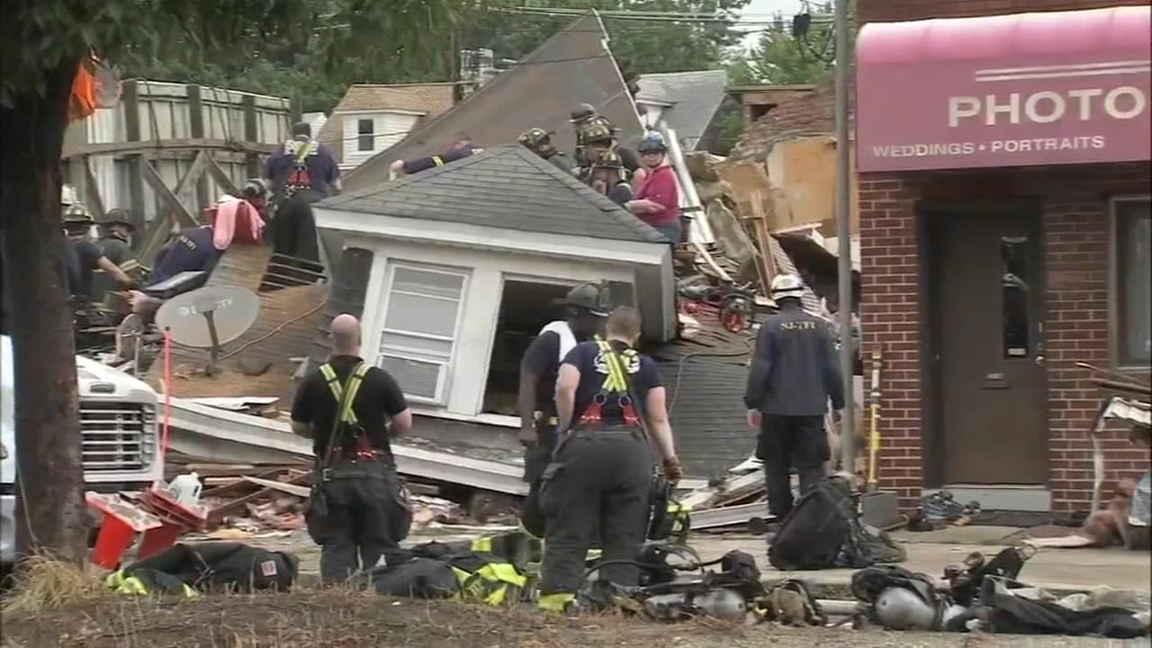 Officials: Mom shielded daughter in N.J. house collapse