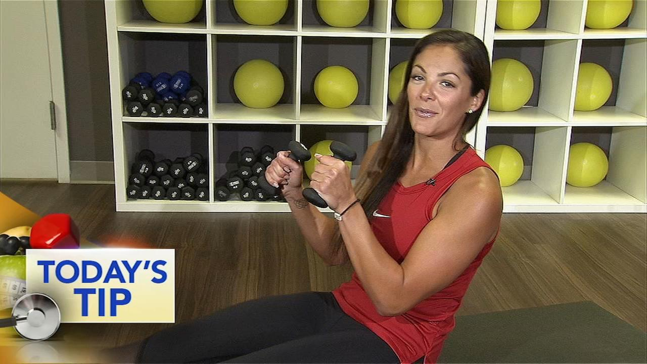 Shoulder, leg lift combo - Todays Fitness Tip