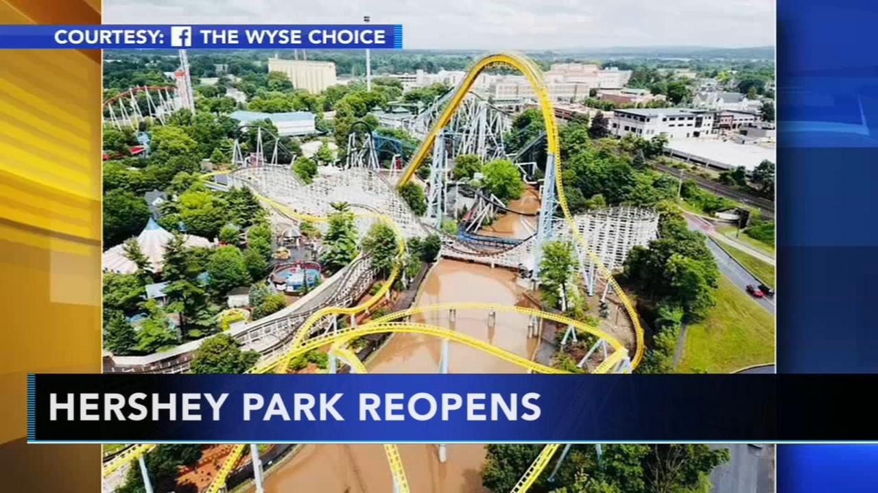Hersheypark reopens after flooding