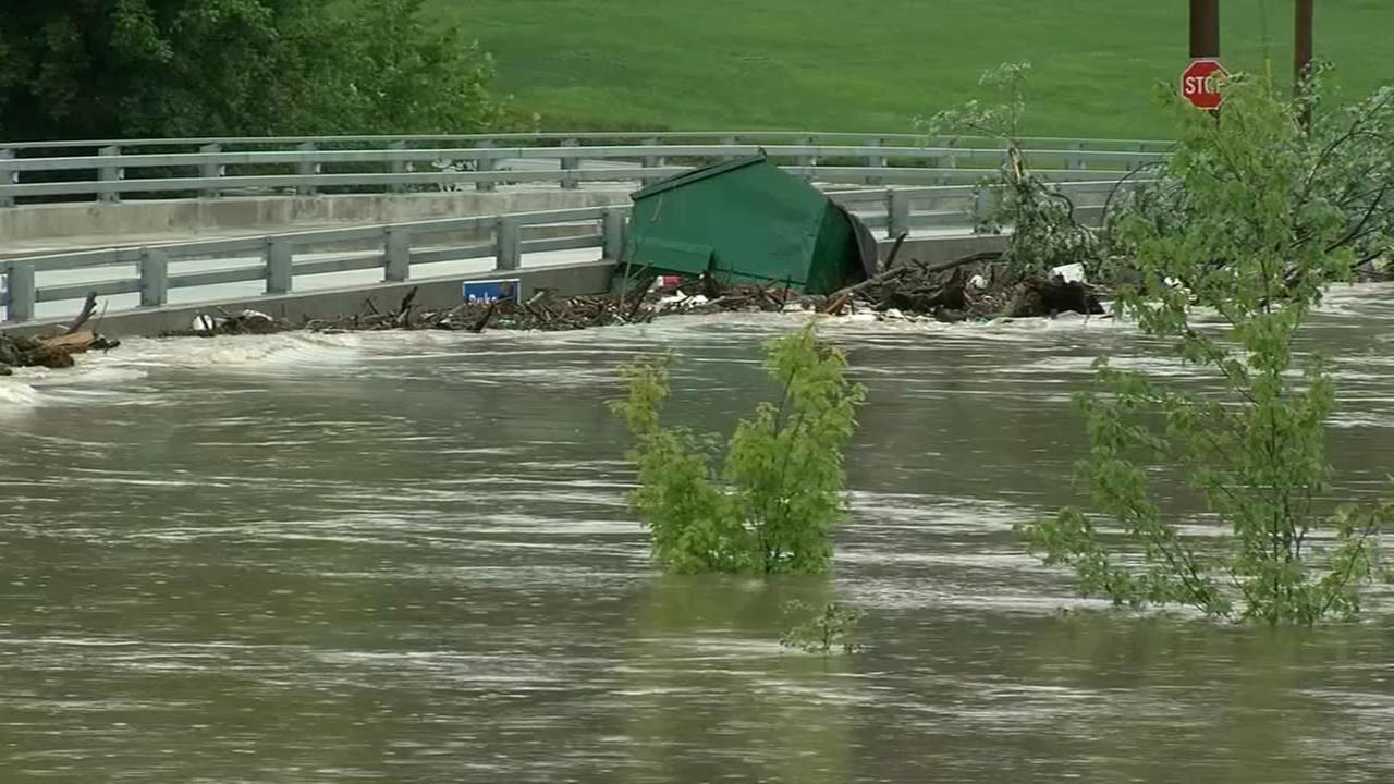 Flooding woes continue across PA