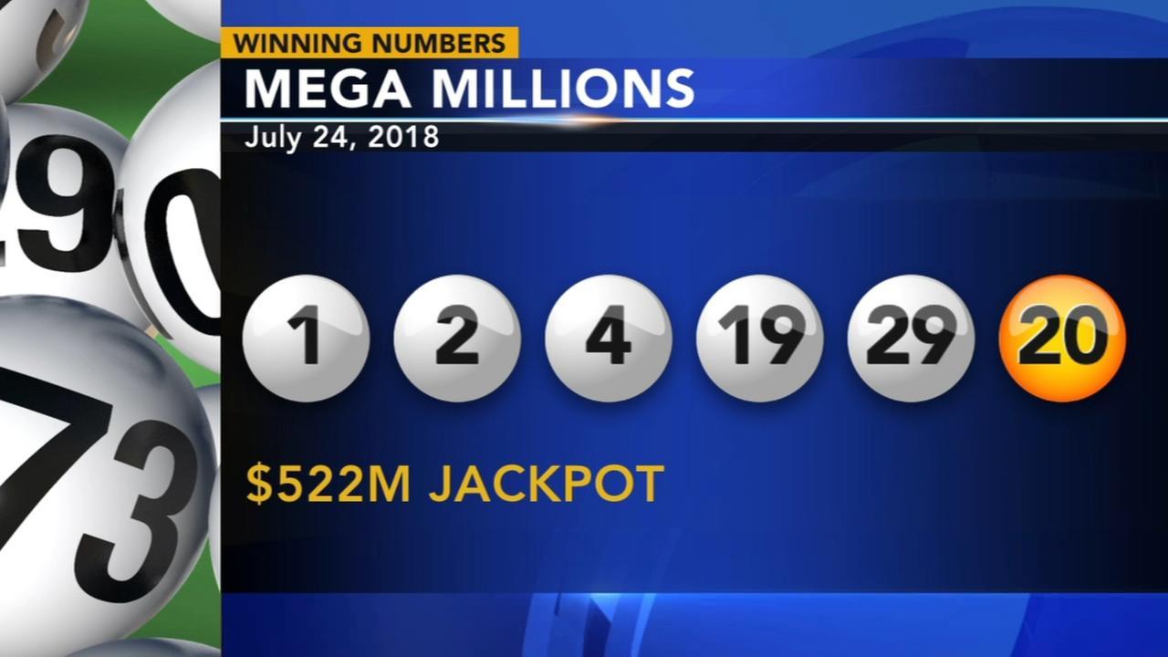 Winning Mega Millions sold in California