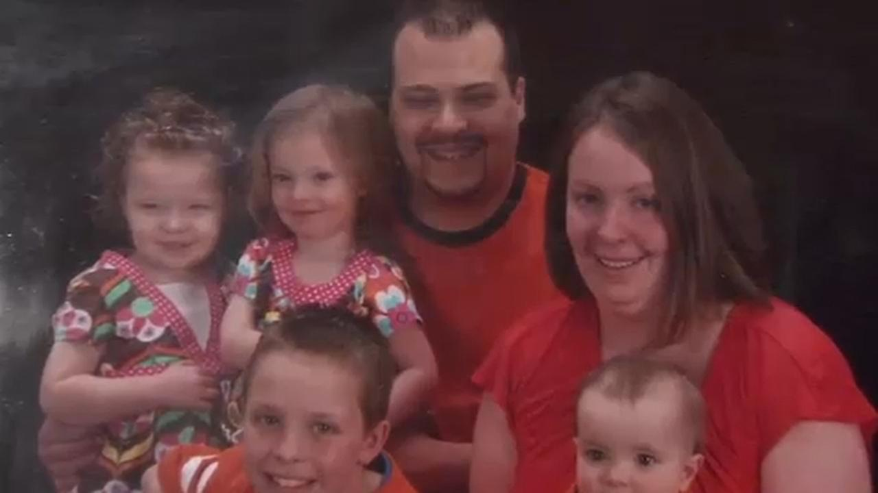 Pictured: Wiliam Bender, the victim of a hit-and-run crash in Montgomery County, is seen here with his family.