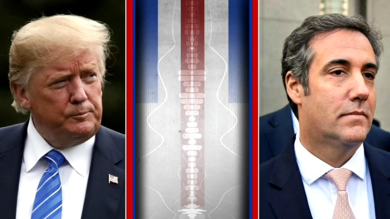 Secret Trump-Cohen tape released, but whats on it in dispute