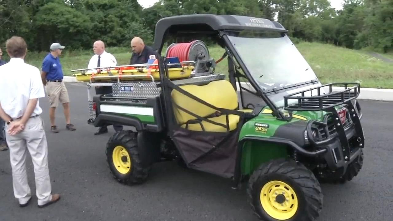 Newark fire department gets new rescue vehicle
