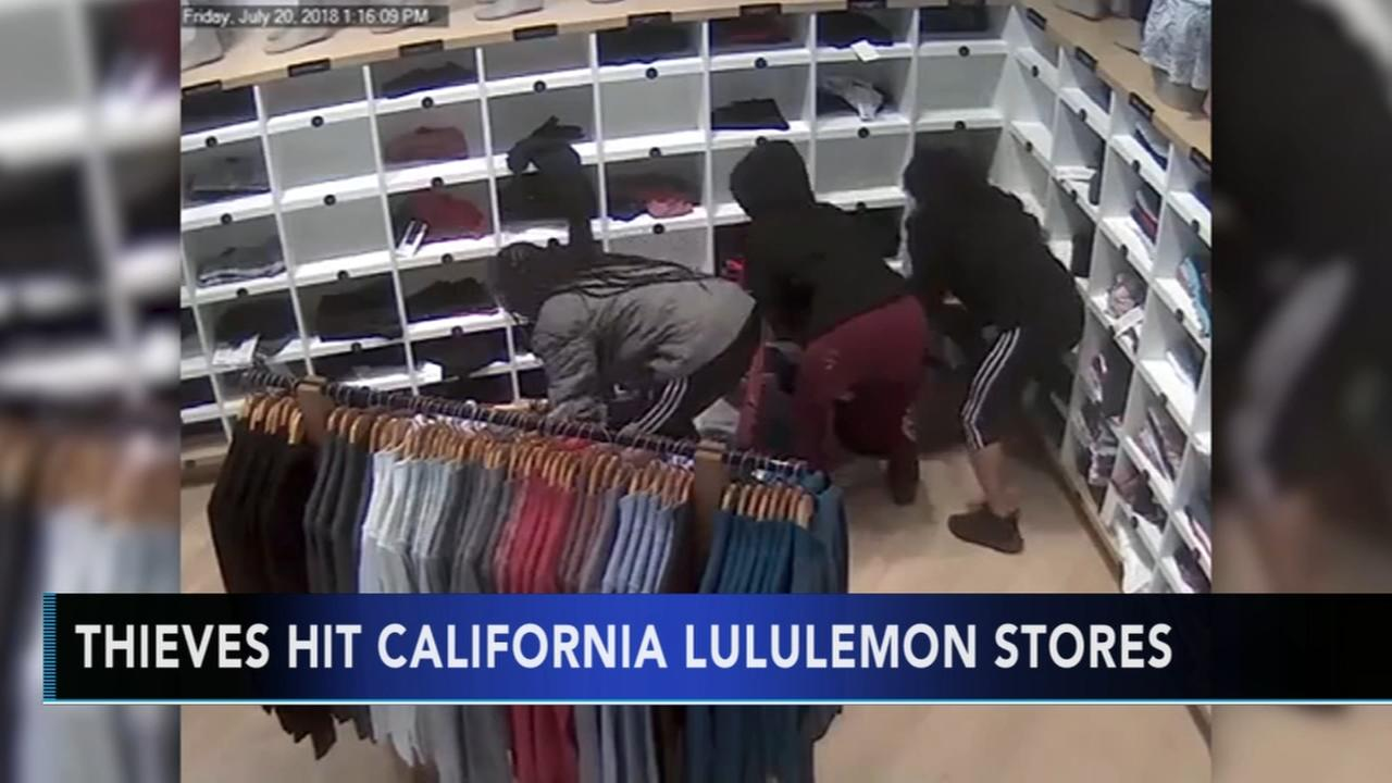 Lululemon thefts in California