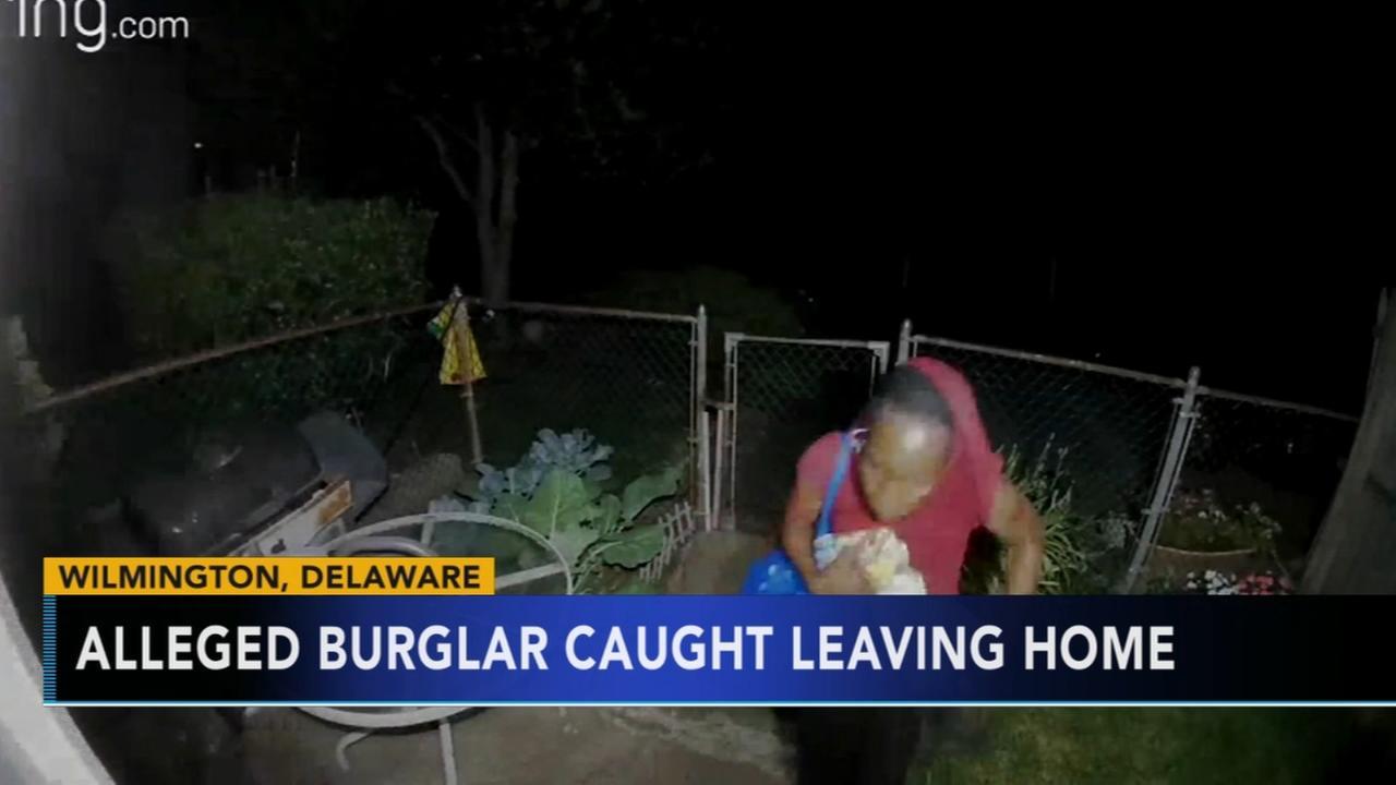 Alleged burglars face captured leaving Wilmington home