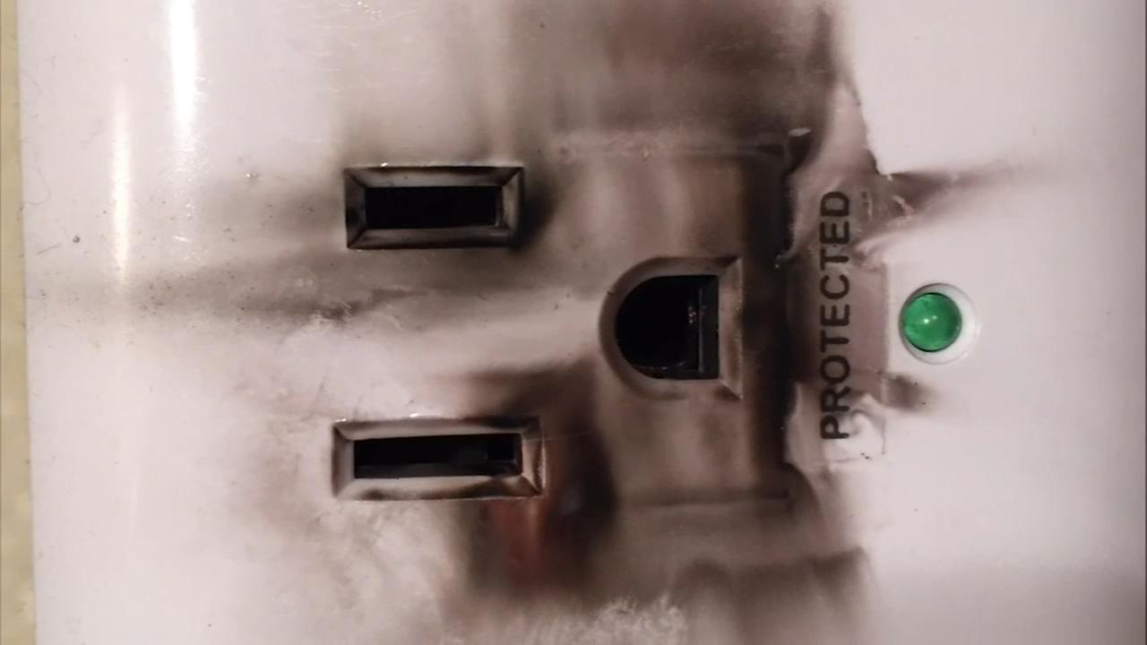 Power surge fried sockets and damaged appliances in several Langhorne homes