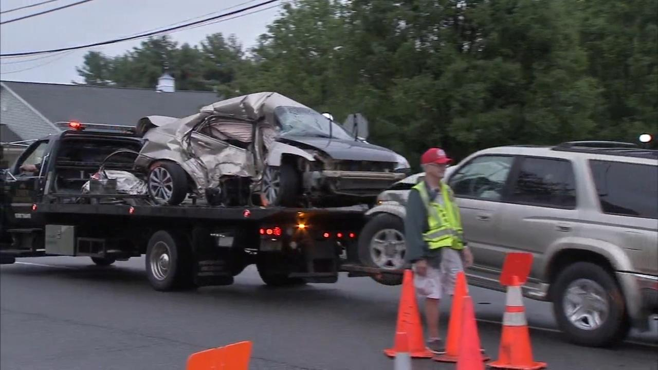 2 dead, 2 injured in Berlin Township Camden County vehicle crash