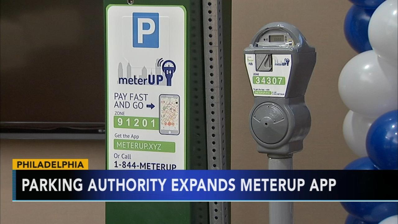 Parking authority expands meterUP