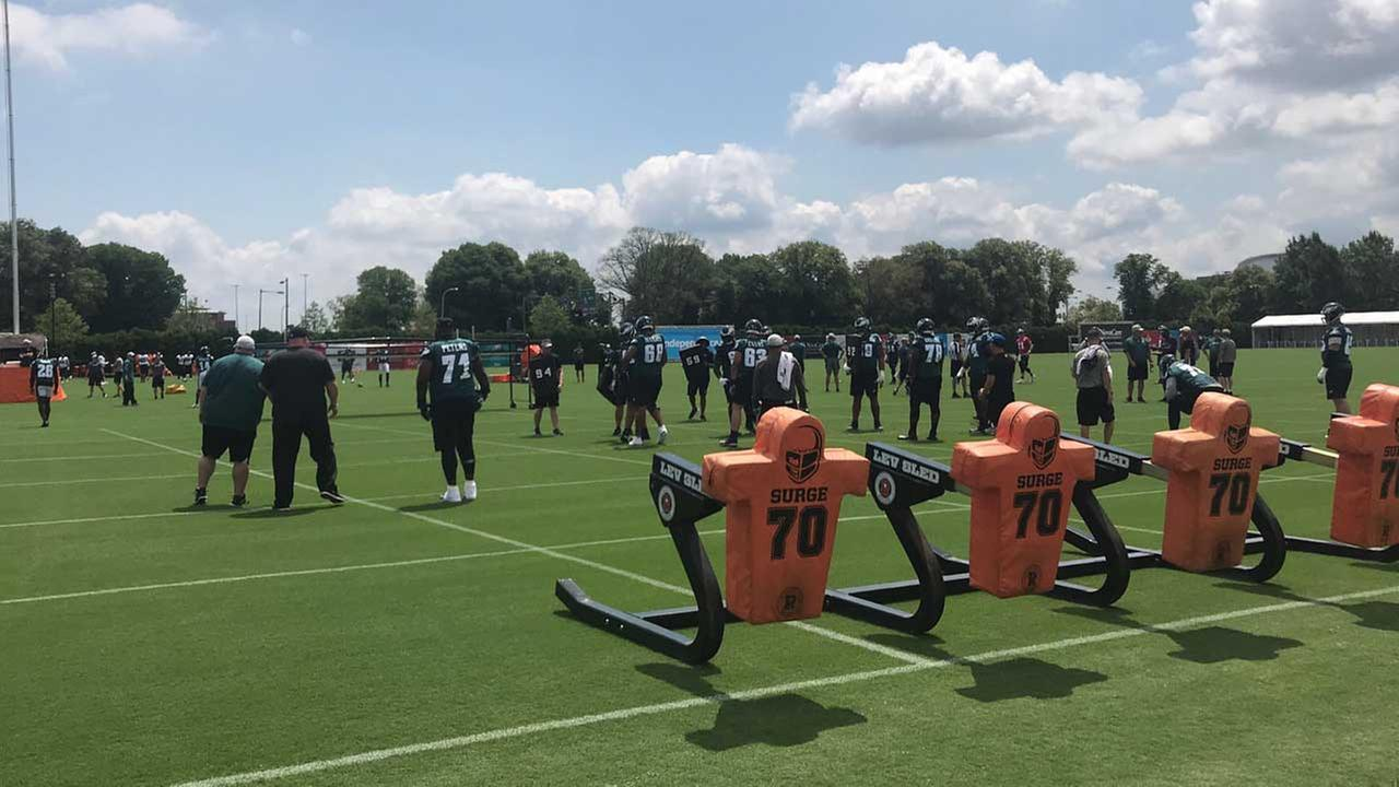 The Super Bowl Champs Are Back - Live Updates from Eagles Training Camp