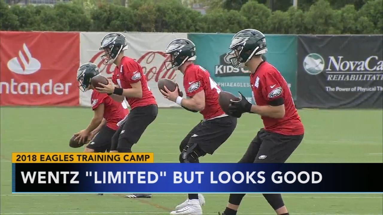 Super Bowl champion Eagles hold first practice of camp