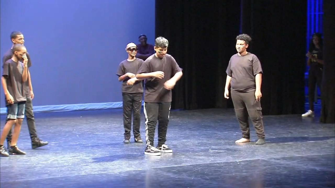 Teens and pre-teens took the stage to showcase their talents