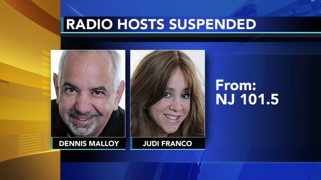 N.J. radio hosts suspended for 10 days for using slur