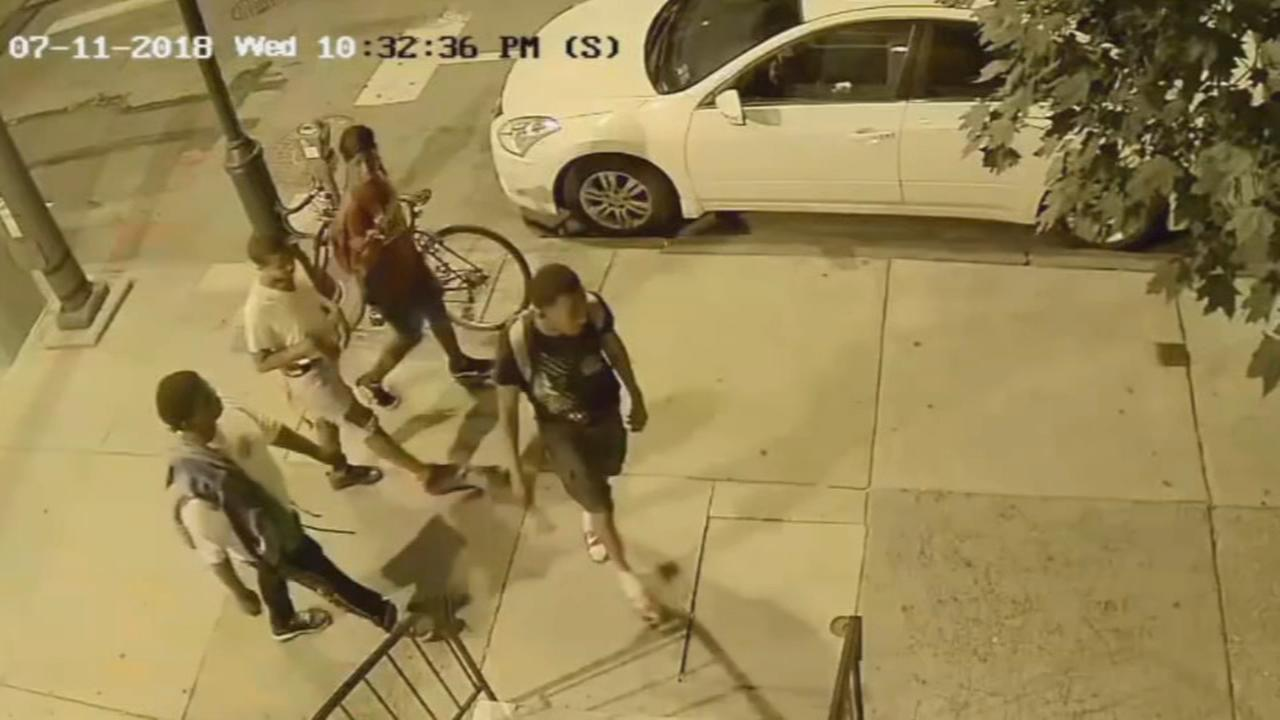 Philly police release surveillance video of Center City robbery