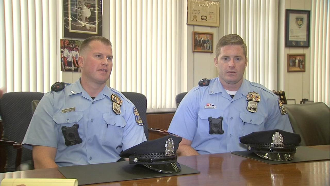 2 Philadelphia police officers use specialized training to save lives