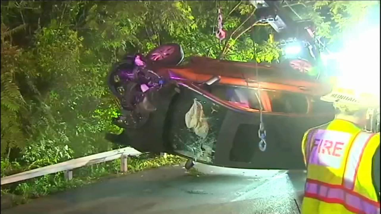 Police pursuit ends in crash in Berks County