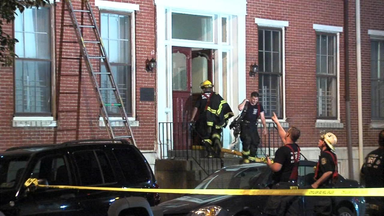 Residents evacuated due to Center City fire