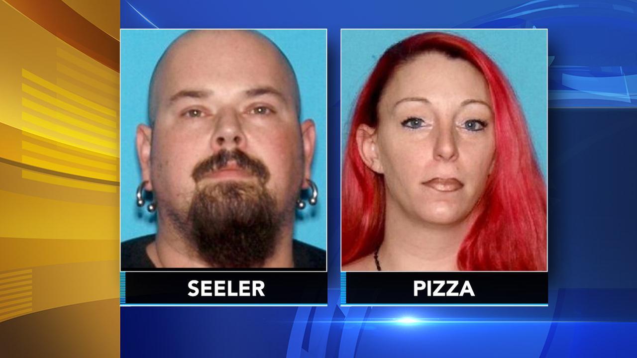 Glenn Seeler and Cheryl Pizza