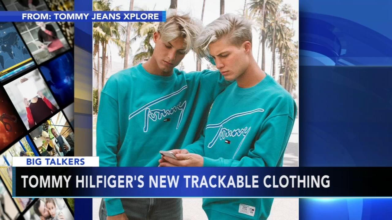 Tommy Hilfiger introduces trackable clothing