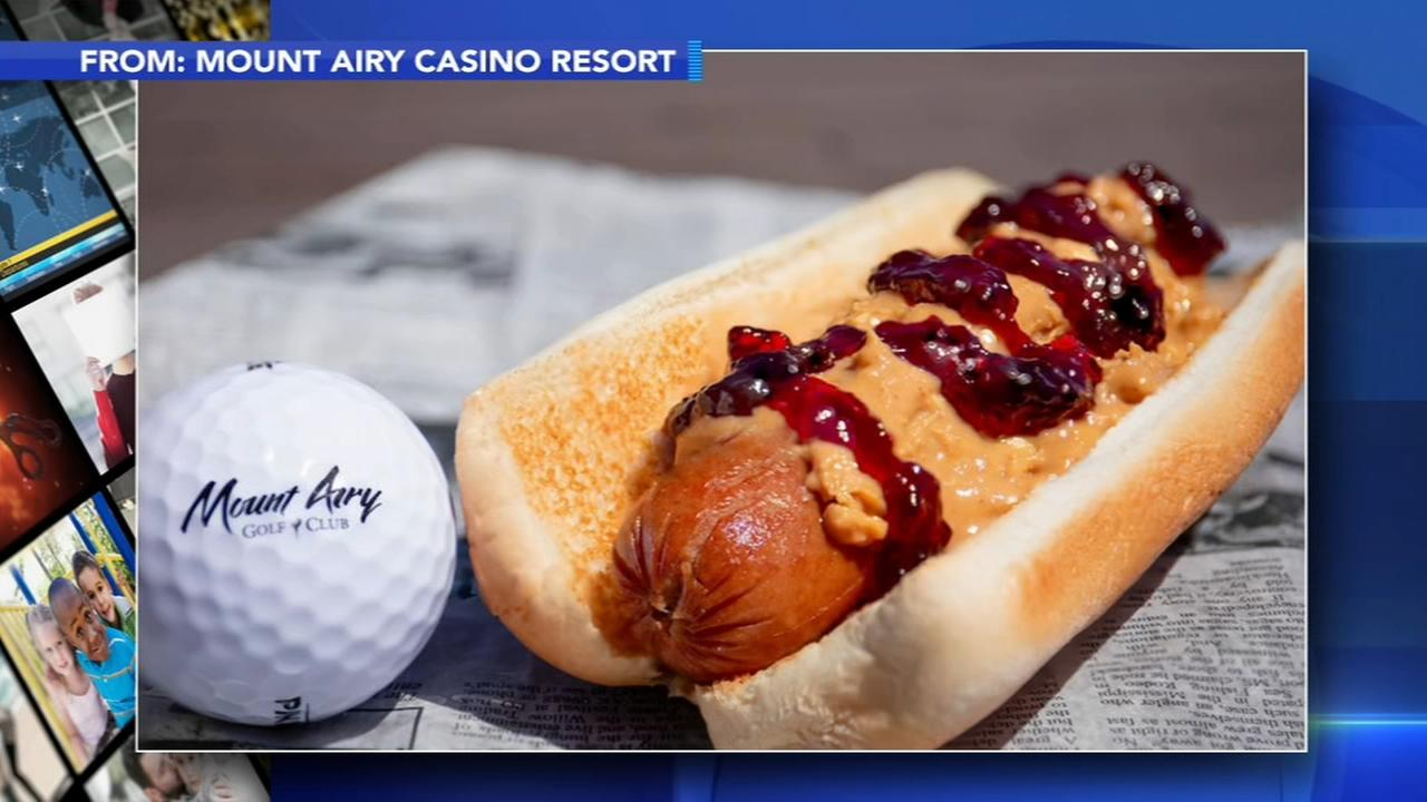 Poconos casino offering up peanut butter and jelly hot dog