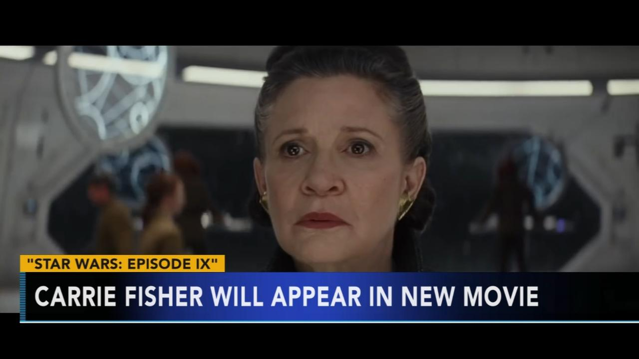 Carrie Fisher to make appearance in next Star Wars film