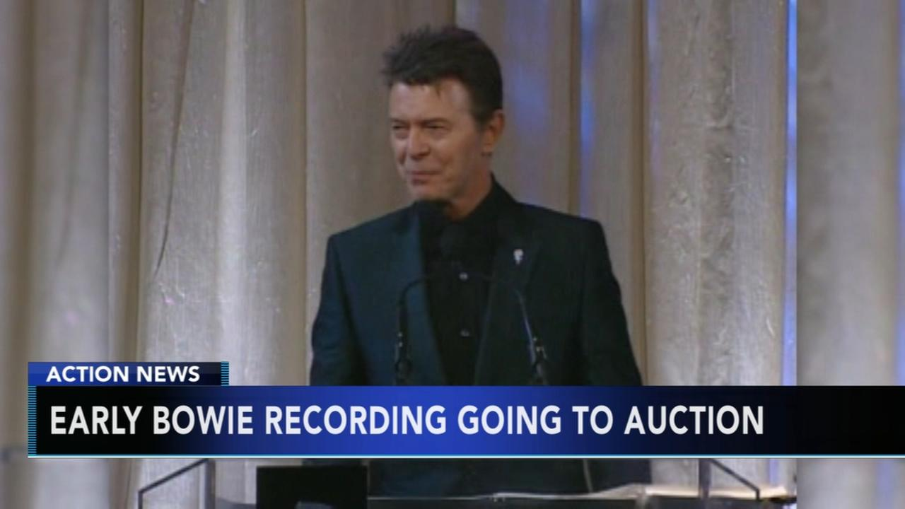 Earliest known David Bowie recording going to auction