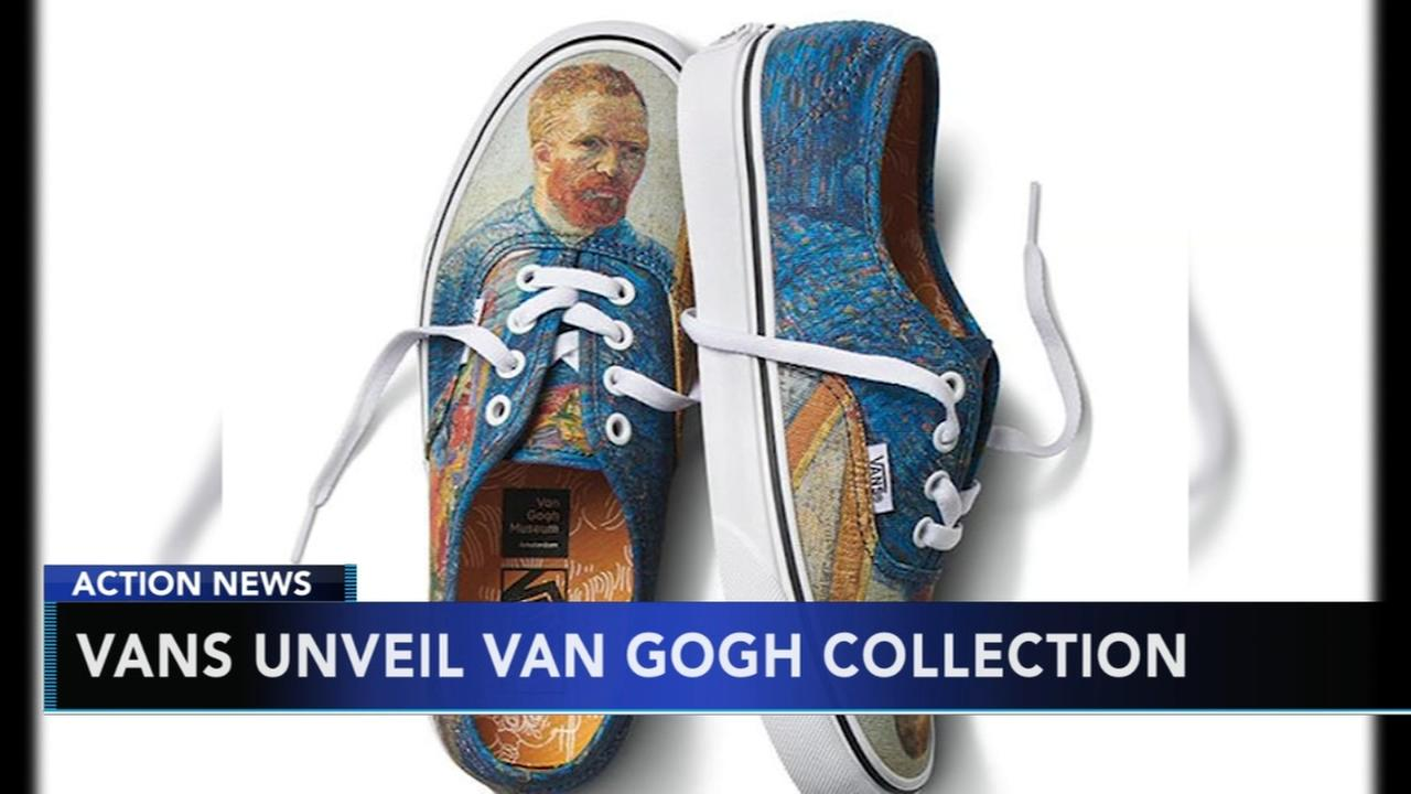 Vans reveals Van Gogh inspired shoes and clothing