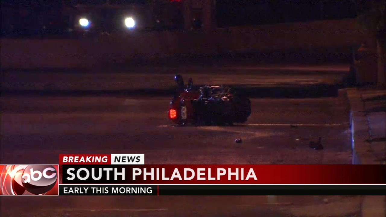1 killed in South Philadelphia motorcycle crash