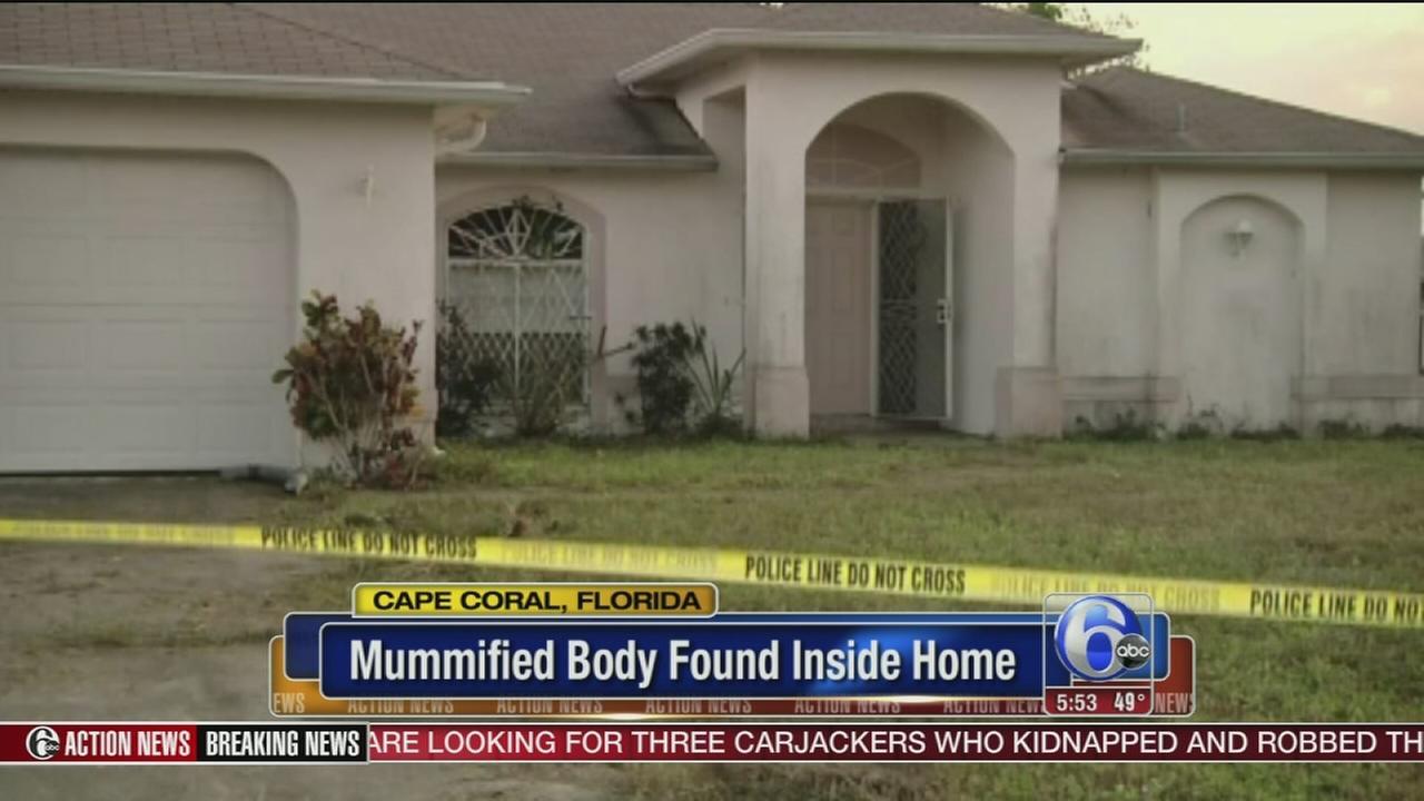 VIDEO: Mummified body found inside Florida home