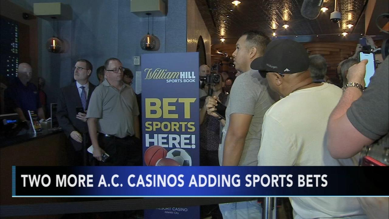 Caesars launching sports betting in New Jersey, Mississippi