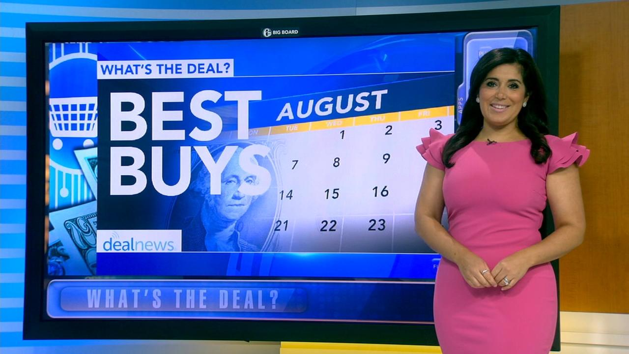 Whats the Deal: Best buys in August