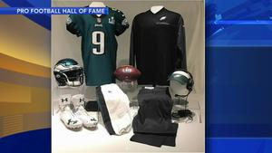 Some pieces of Eagles Super Bowl history are in Canton Ohio ...