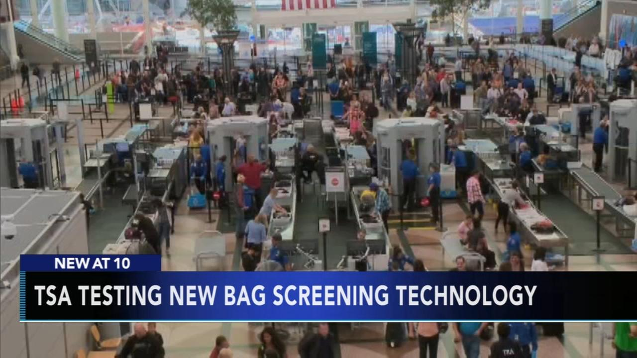 TSA to begin testing out new bag screening technology