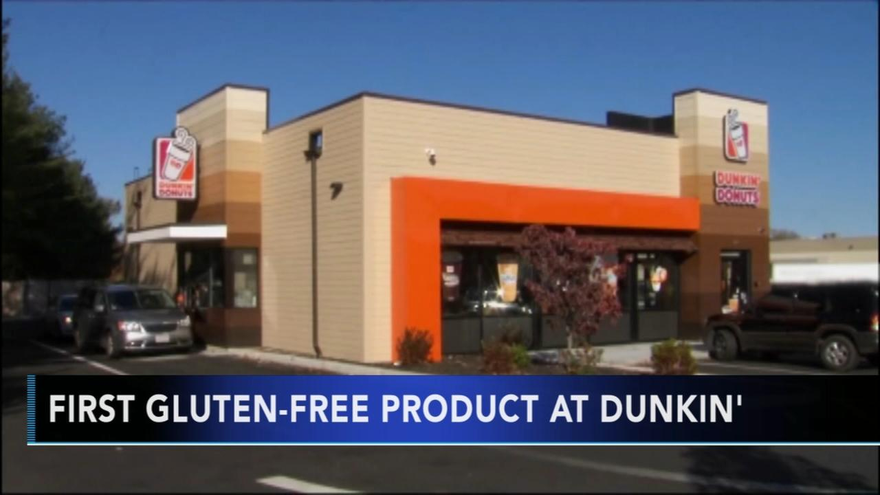 Dunkin Donuts announces first gluten-free product