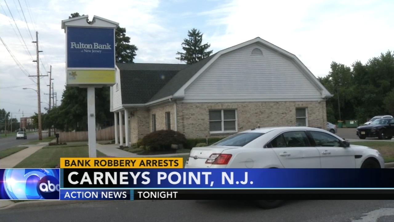 Police investigate bank robbery in Salem County