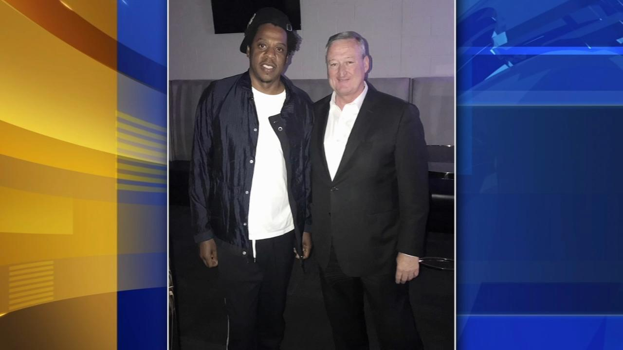 Mayor Kenney meets with Jay-Z