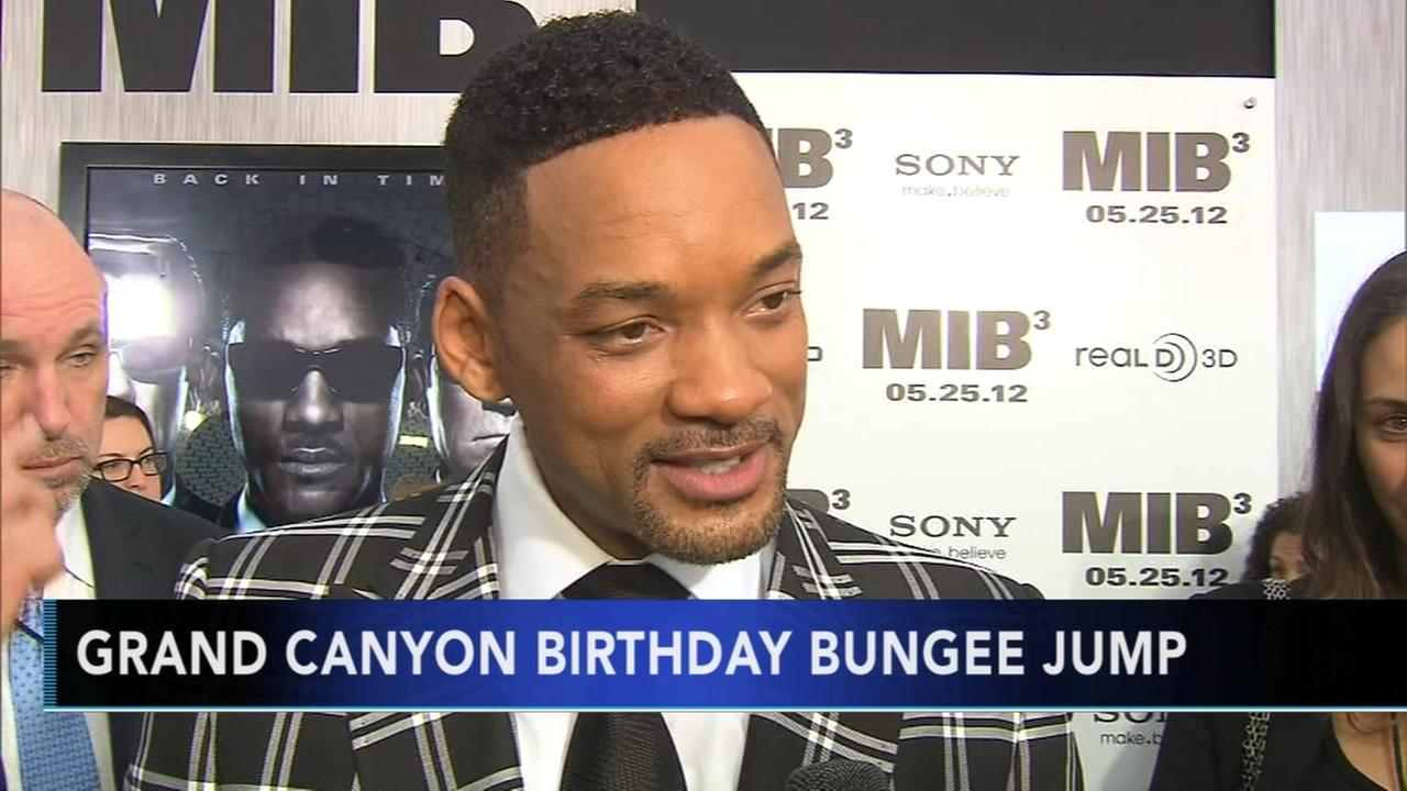 Will Smith to bungee over Grand Canyon on 50th birthday