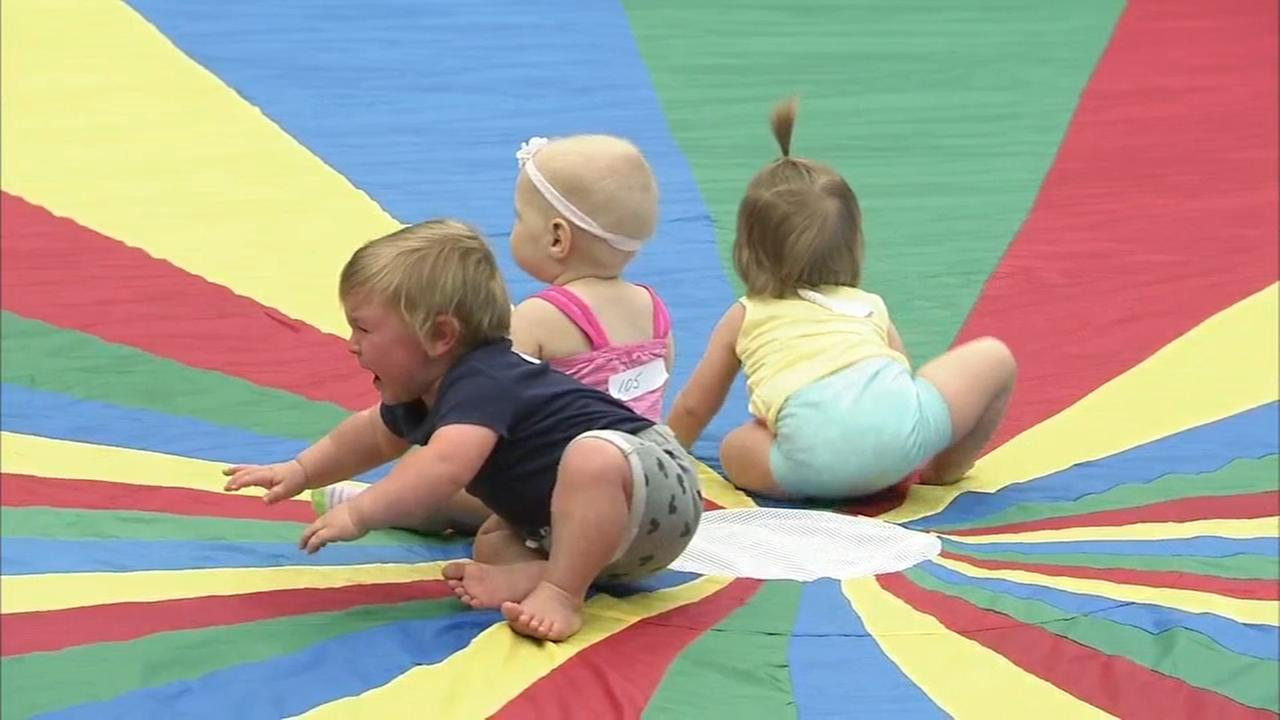 Fast moving infants were awarded for their speed Tuesday in Wildwood