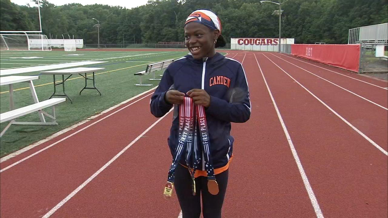 Camden runner shatters a 24 year old national record