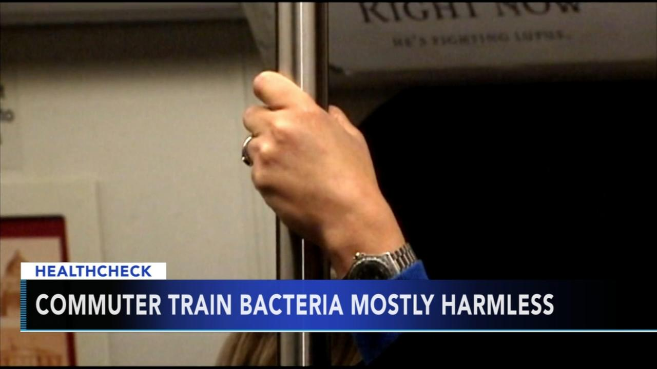Study: Commuter train bacteria mostly harmless