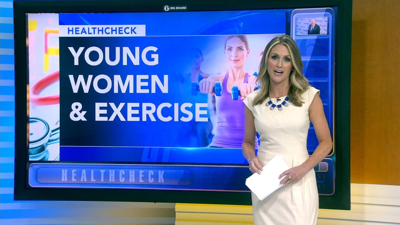 Study: Young women not getting enough exercise