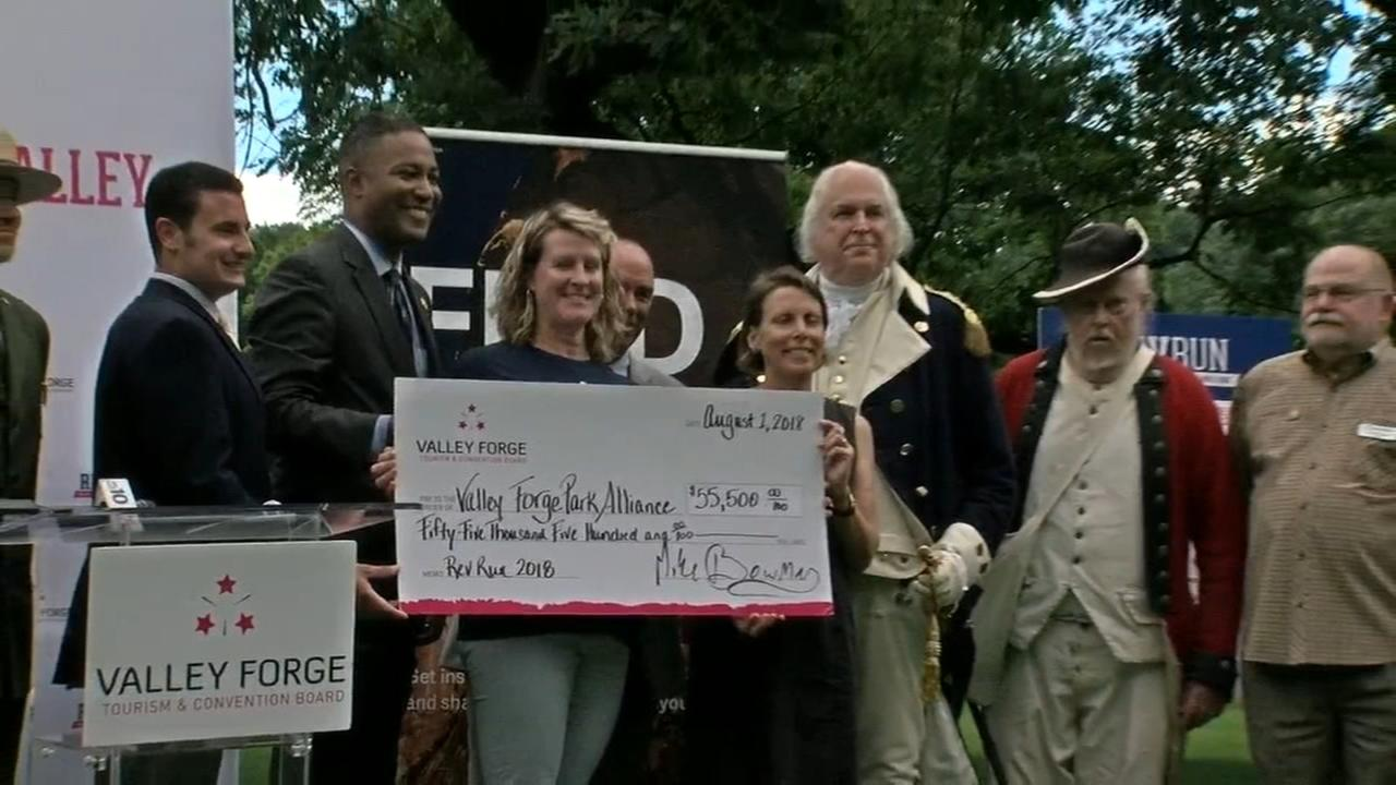 Valley Forge National Park received a big check