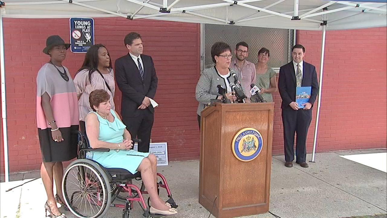 Much needed renovations are coming to a Philadelphia rec center