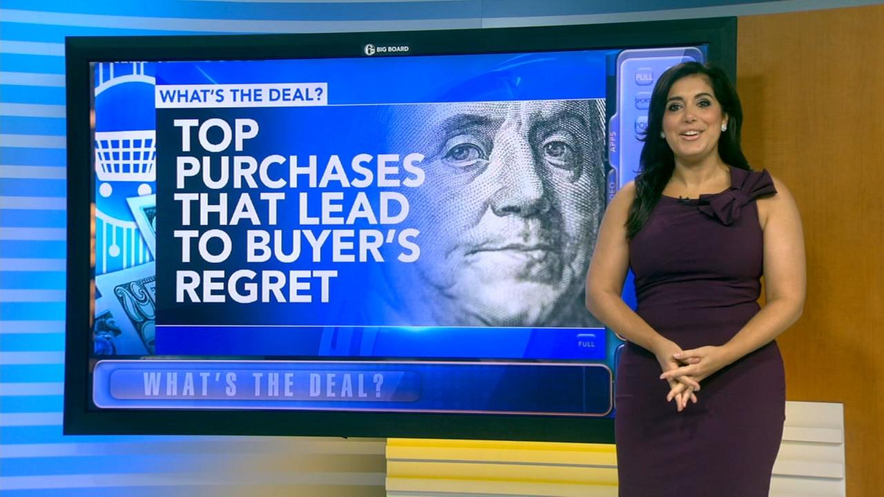 Whats the Deal: Top purchases that lead to buyers remorse
