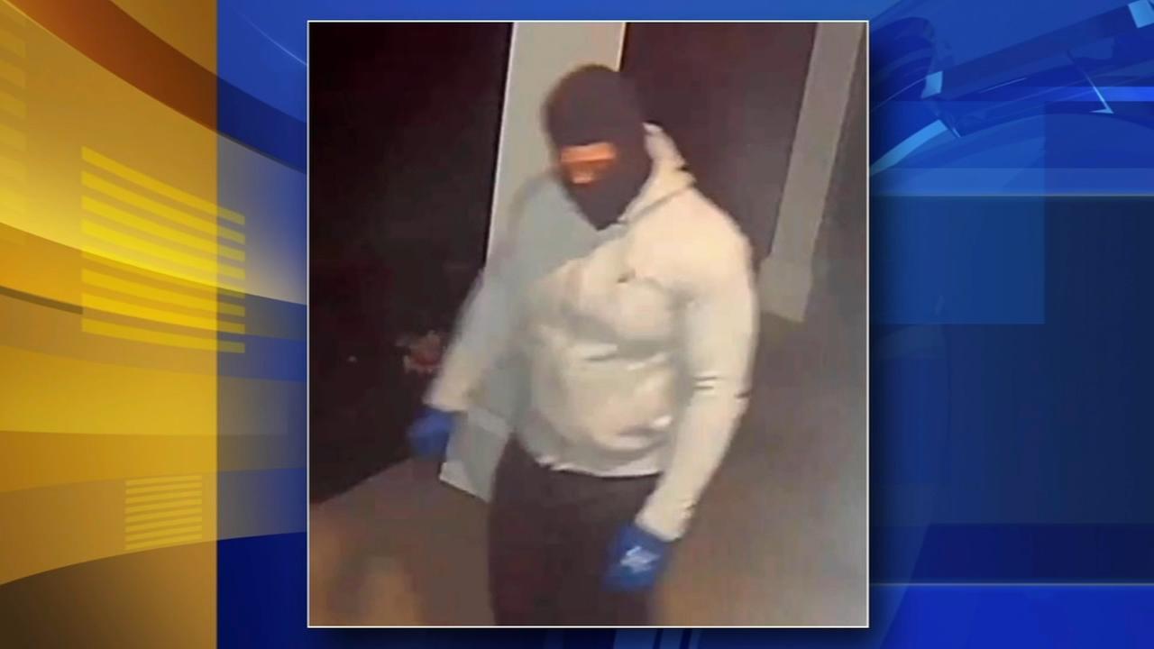 Suspect sought in Bucks County burglary spree