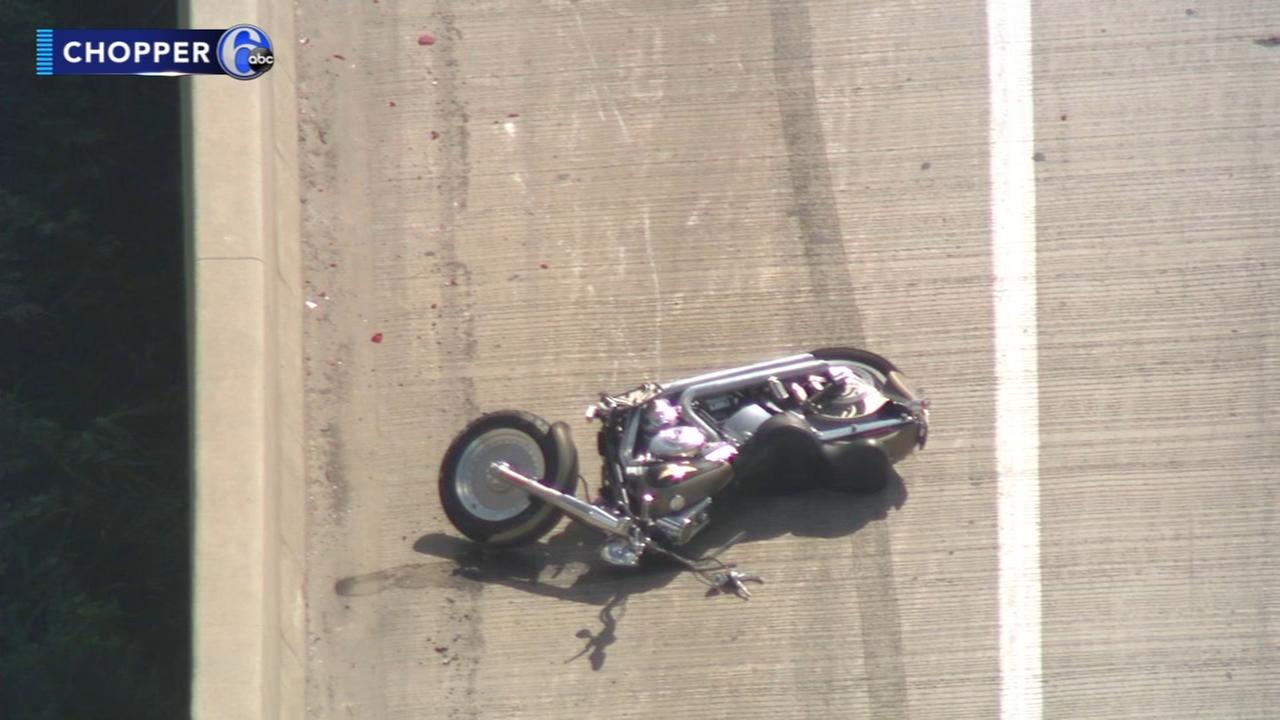 Motorcyclist killed in crash on Blue Route; NB lanes reopened in West Conshohocken