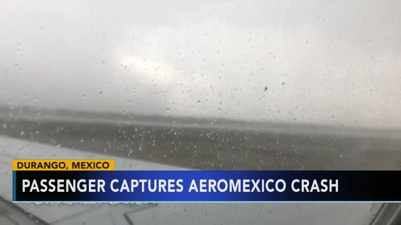 Passenger captures AeroMexico crash