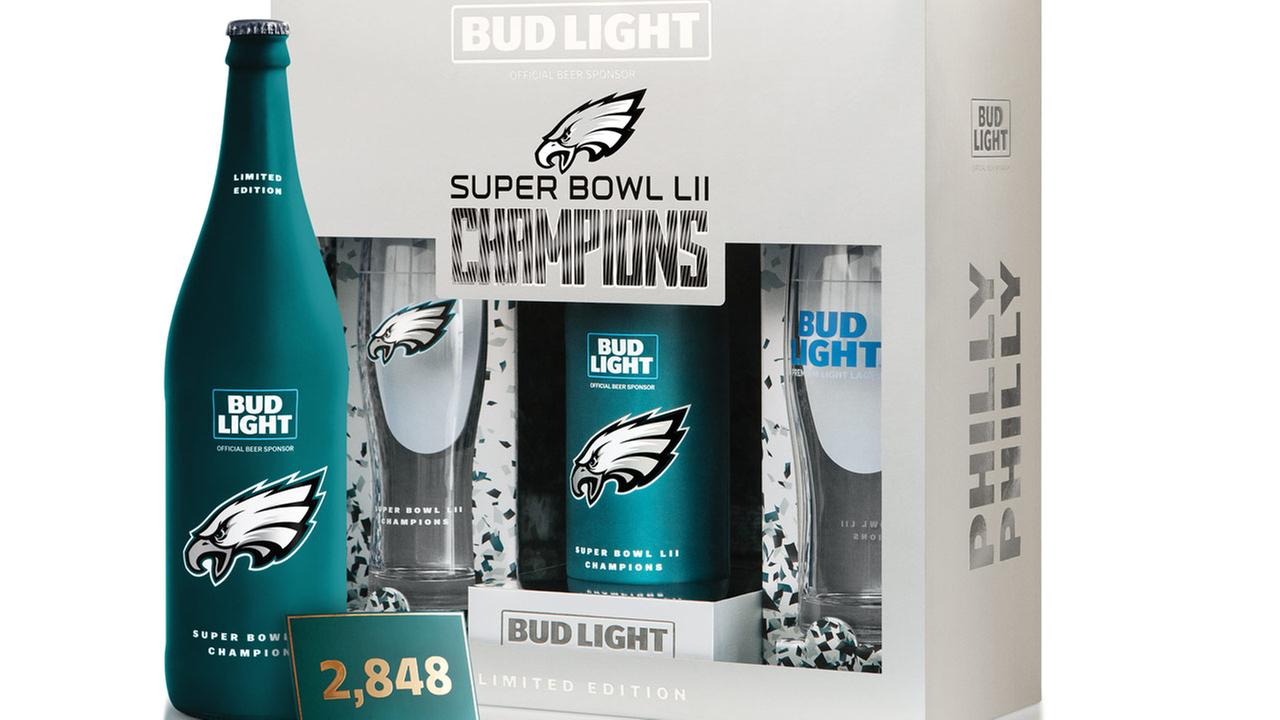 Eagles, Bud Light team up for 'Philly Philly' limited edition packs
