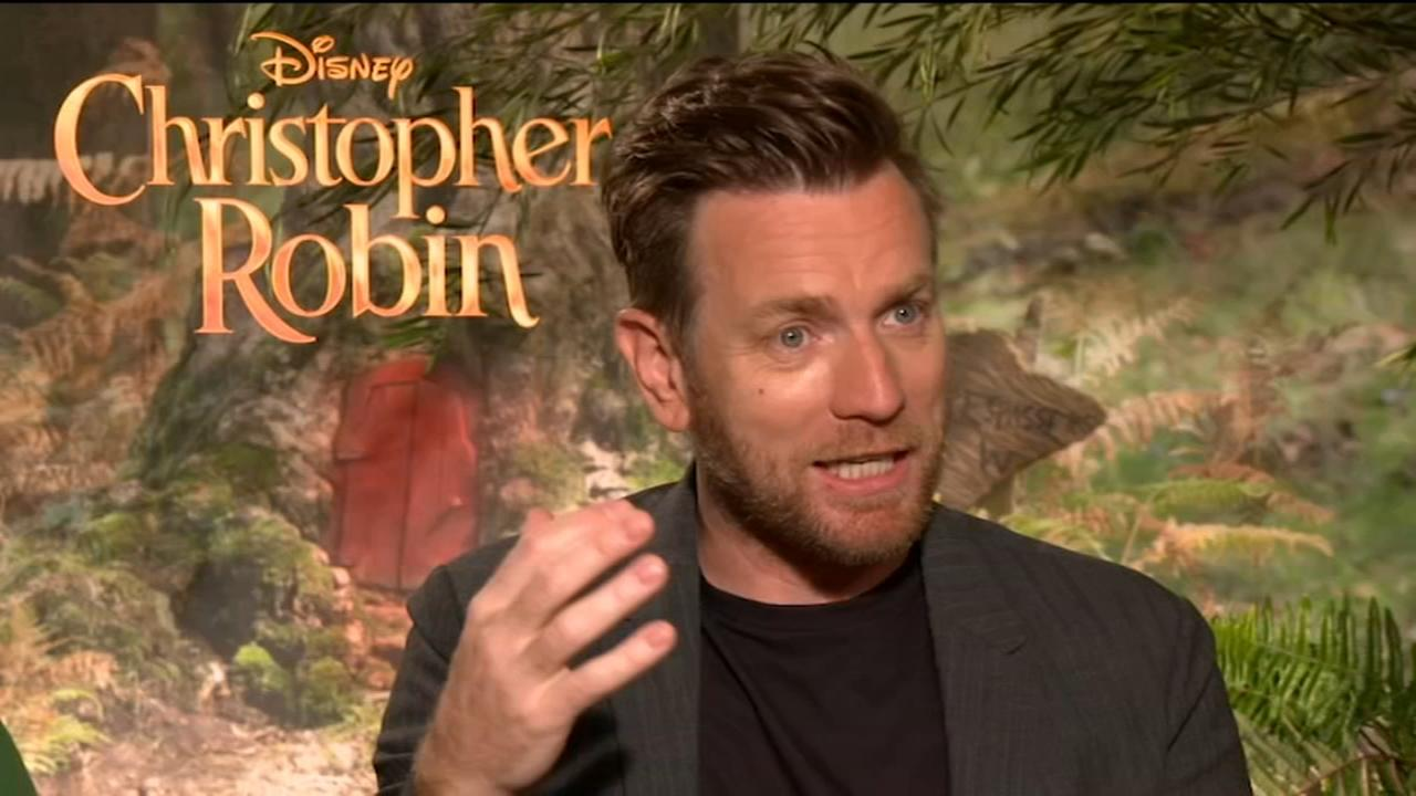 Ewan McGregor and Pooh talk on new Christopher Robin movie