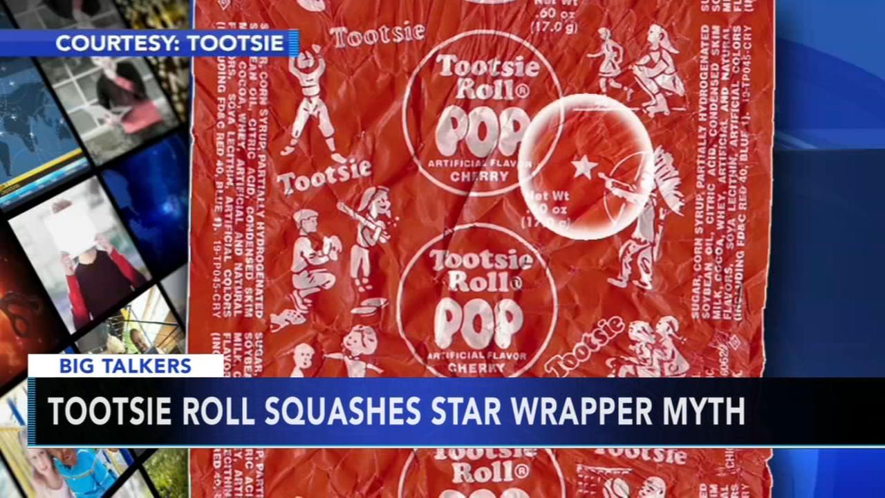 Tootsie Roll squashes star wrapper myth